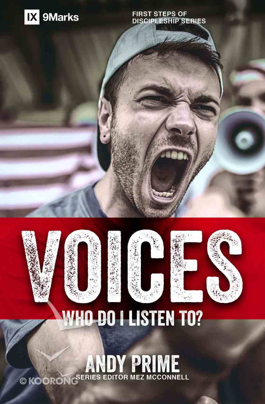 Voices - Who Am I Listening To? (9marks Series) Paperback