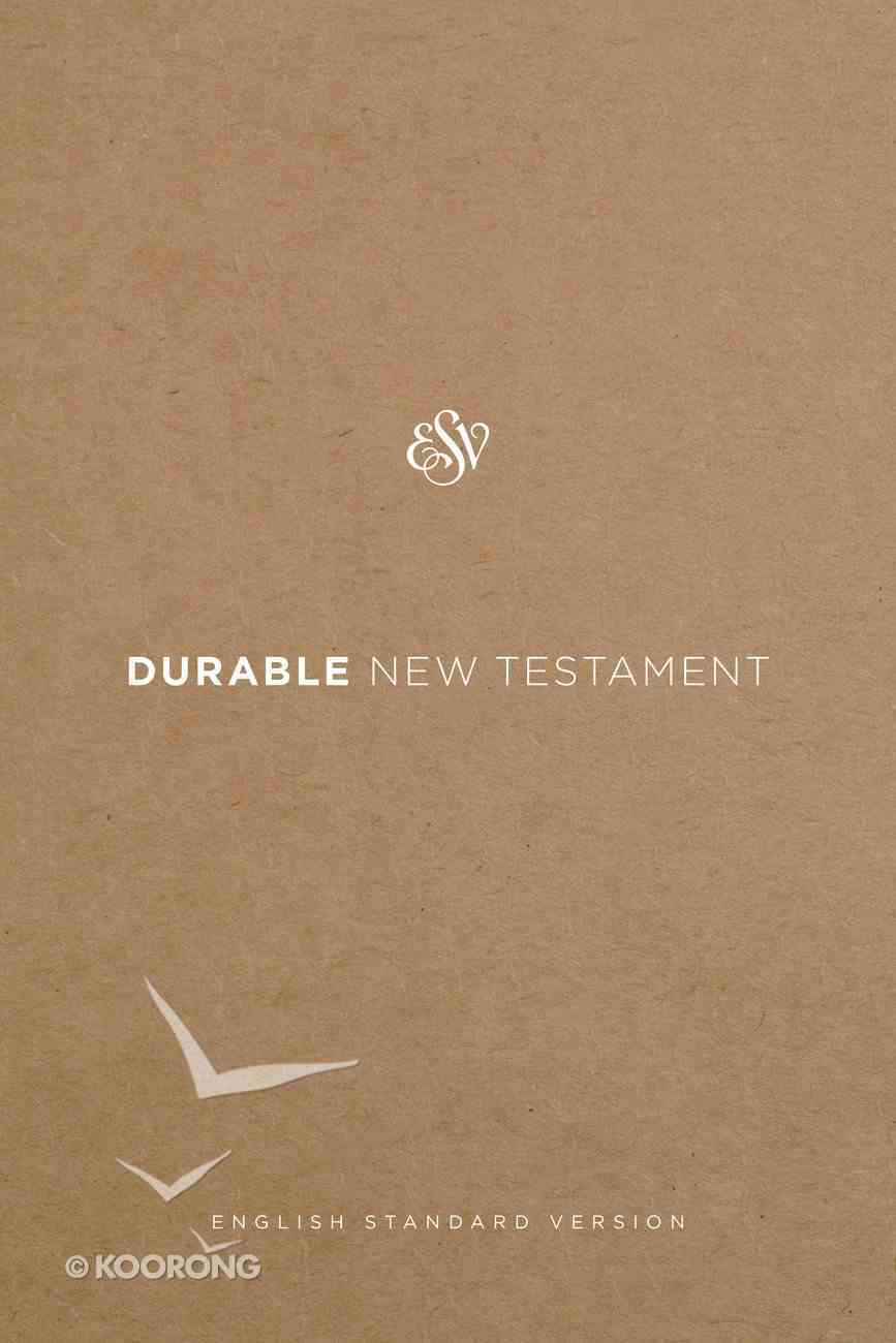 ESV Durable New Testament (Black Letter Edition) Book Other