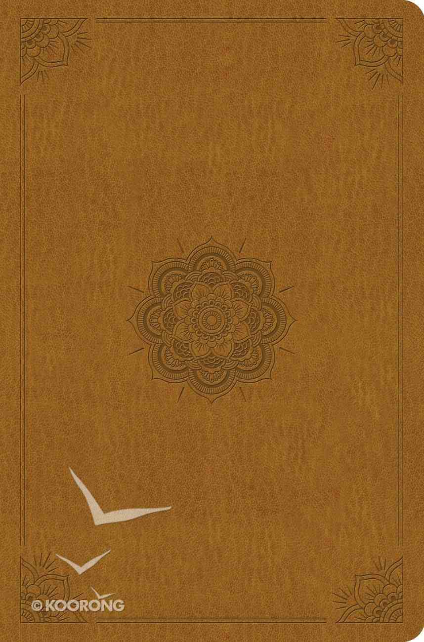 ESV Compact Outreach Bible Premium Edition Goldenrod Emblem Design (Black Letter Edition) Imitation Leather