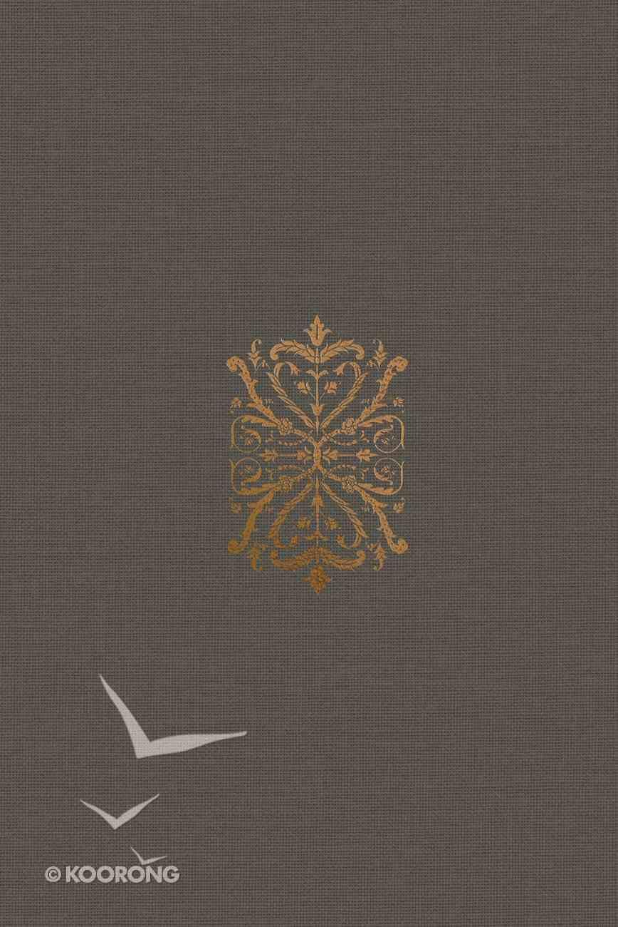 ESV Study Bible Personal Size Royal Imprint (Black Letter Edition) Hardback