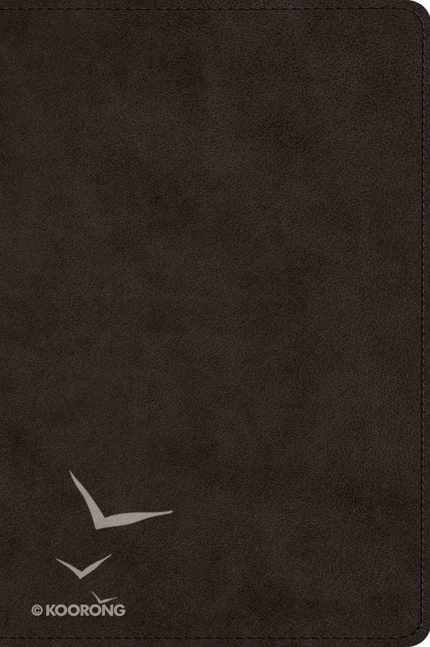 ESV Large Print Bible Black (Black Letter Edition) Imitation Leather