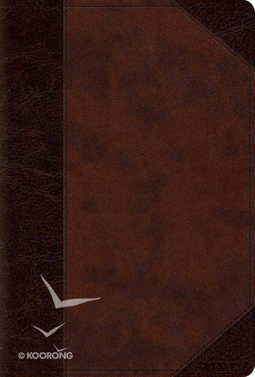 ESV Devotional Psalter Brown/Walnut Portfolio Design (Black Letter Edition) Imitation Leather