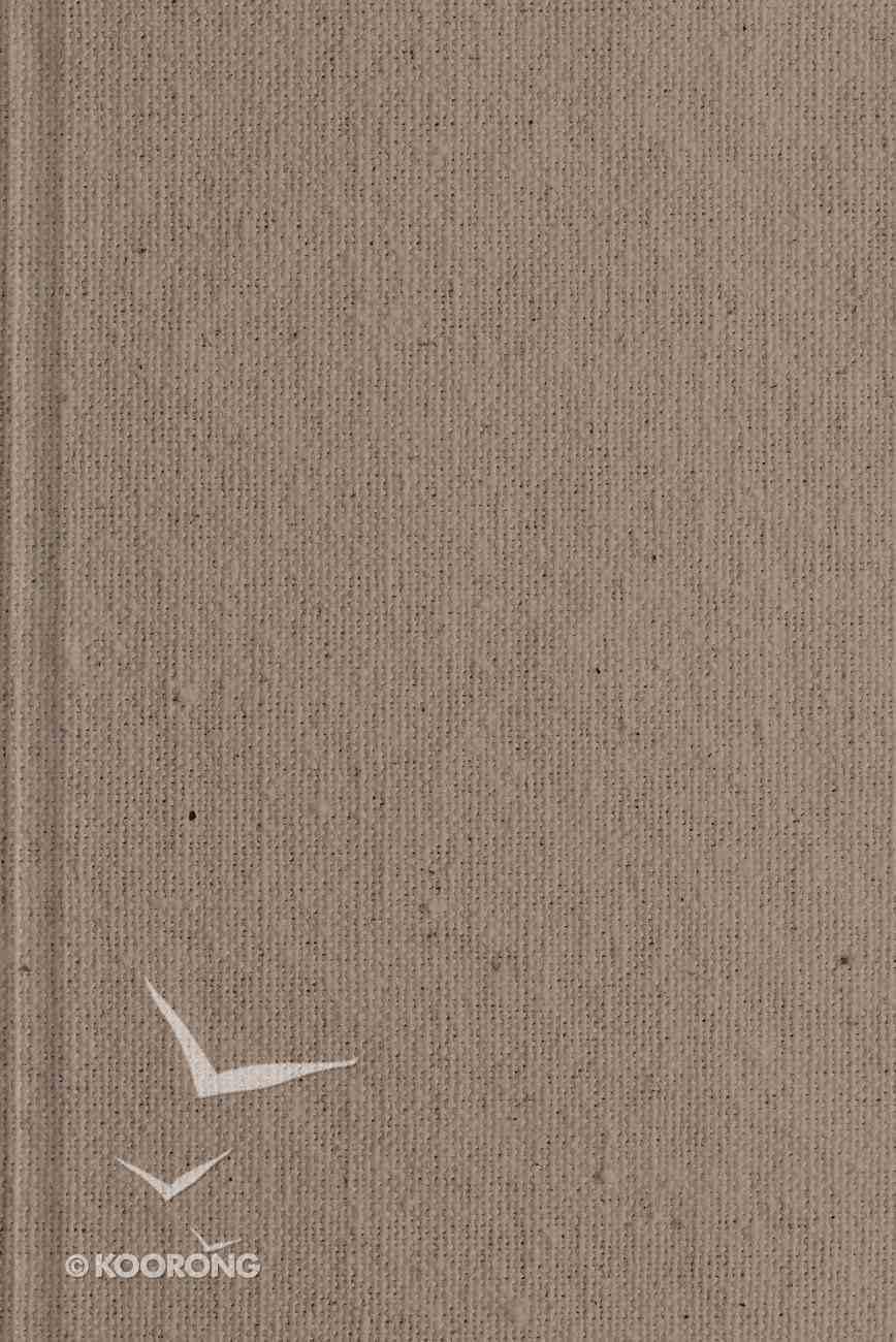 ESV Study Bible Personal Size Tan (Black Letter Edition) Hardback