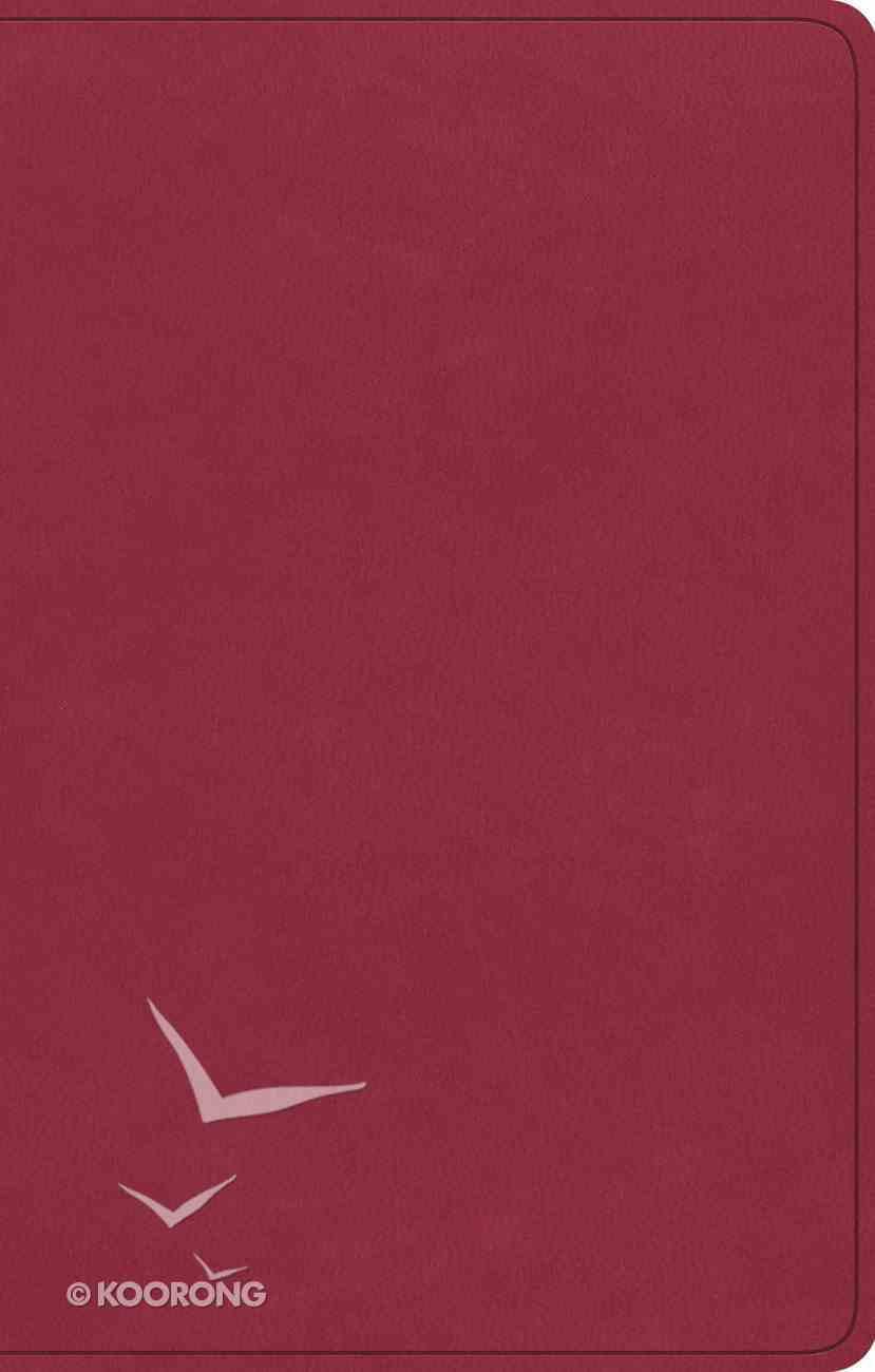 ESV Premium Gift Bible Berry Imitation Leather