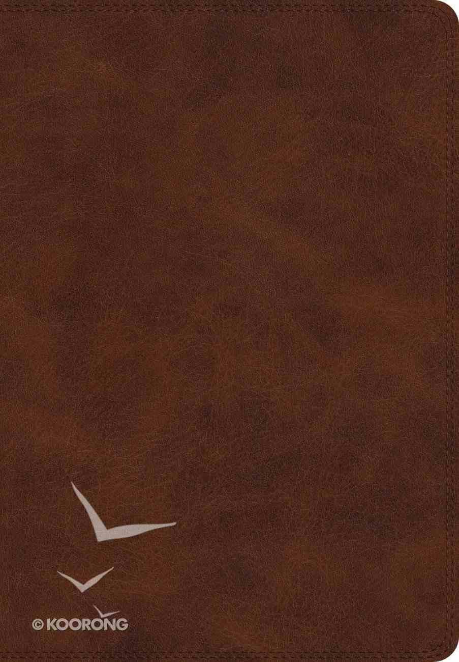 ESV Super Giant Print Bible Burgundy (Black Letter Edition) Imitation Leather