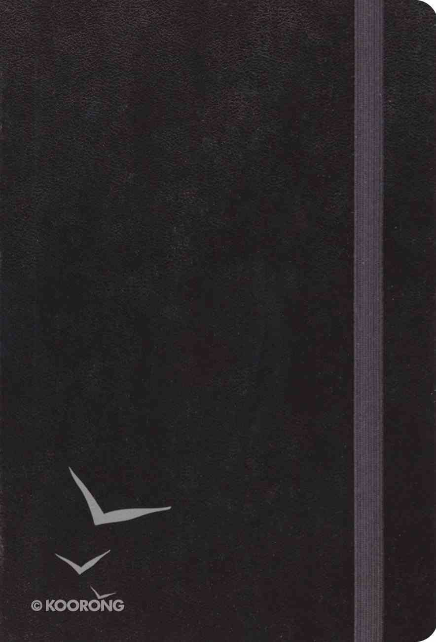 ESV Large Print Compact Bible Black With Strap (Red Letter Edition) Hardback