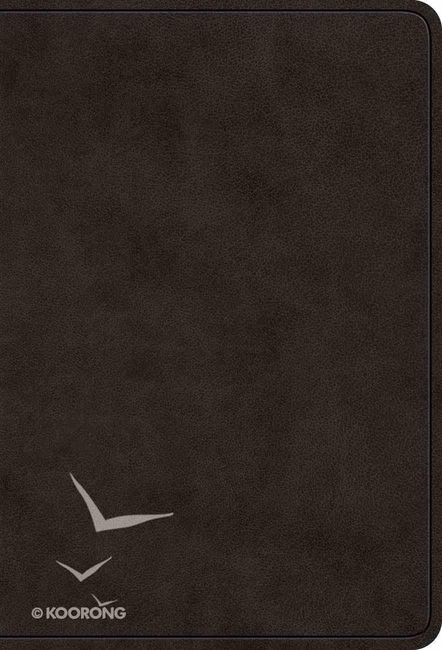 ESV Value Large Print Compact Bible Black (Black Letter Edition) Imitation Leather