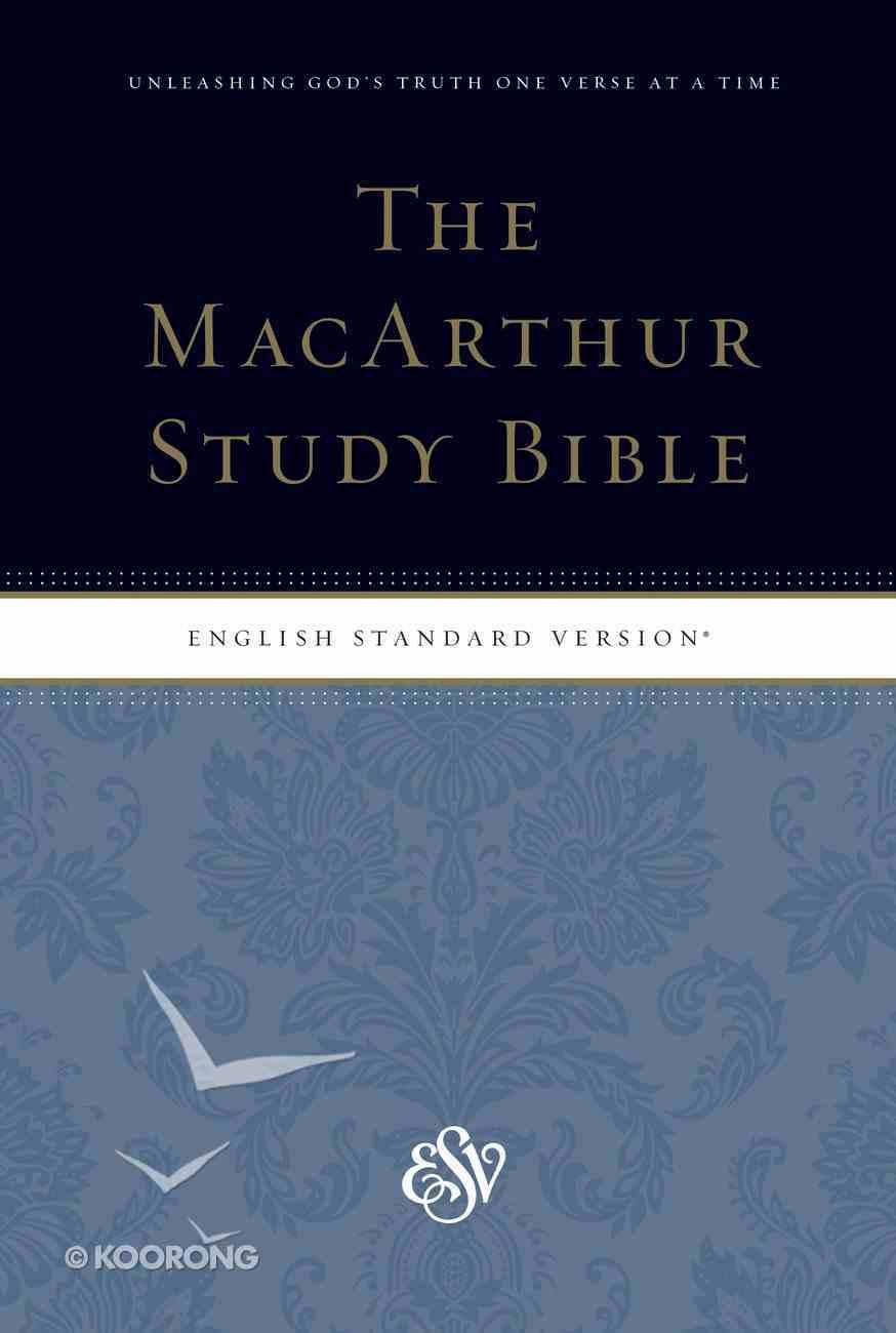 ESV Macarthur Study Bible Personal Size Paperback