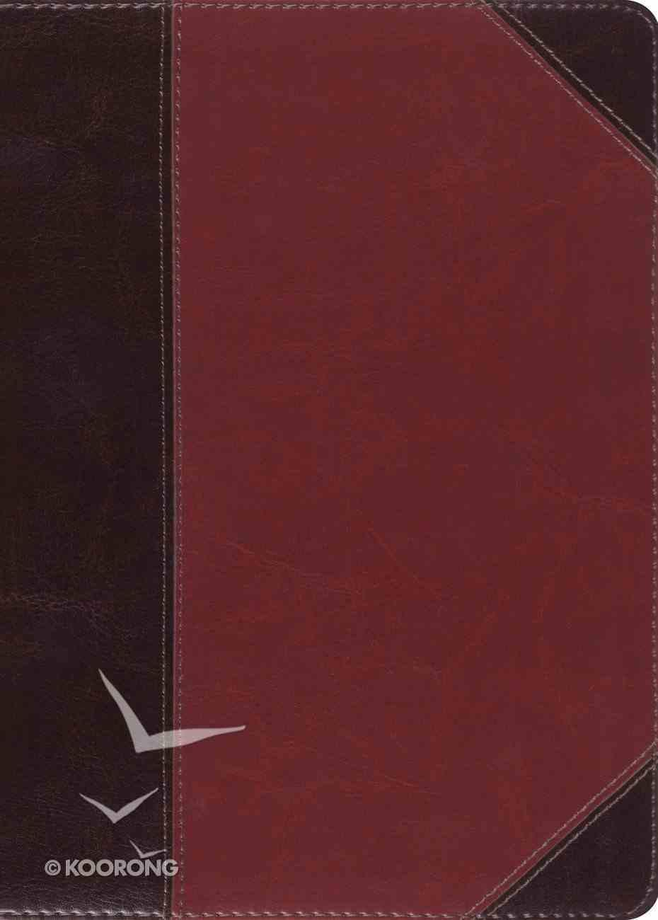 ESV Macarthur Study Bible Brown/Cordovan Portfolio Design (Black Letter Edition) Imitation Leather