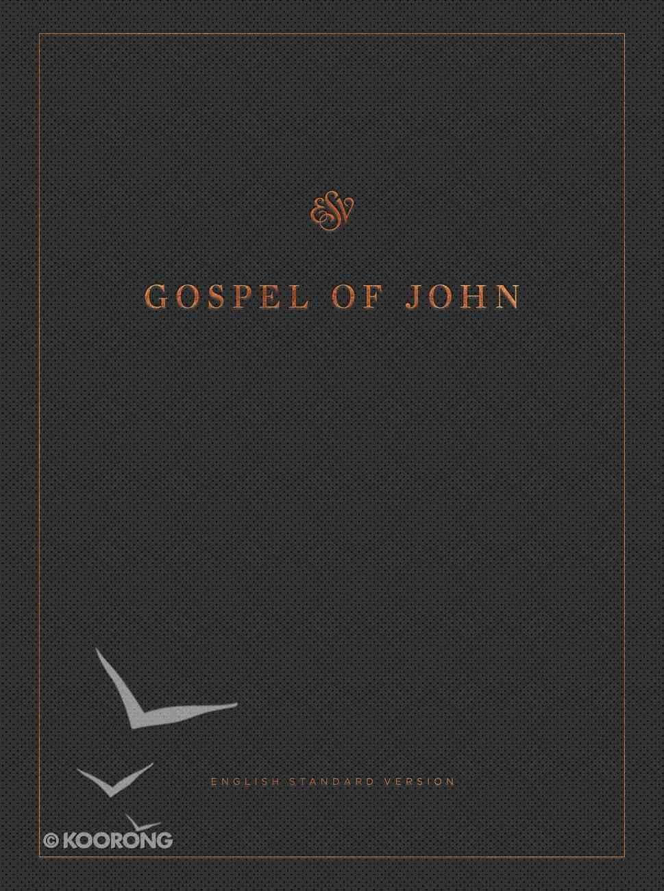 ESV Gospel of John Reader's Edition Large Print (Black Letter Edition) Paperback