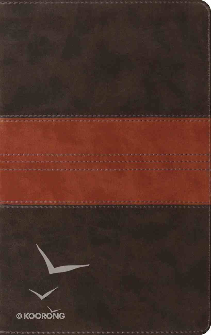 ESV Thinline Reference Bible Forest/Tan Trail Design (Black Letter Edition) Imitation Leather