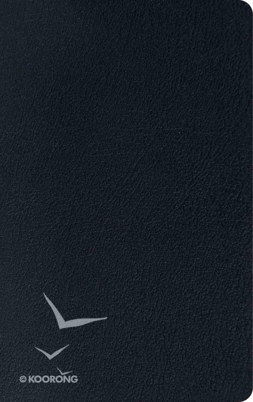 ESV Thinline Reference Bible Black Genuine Leather
