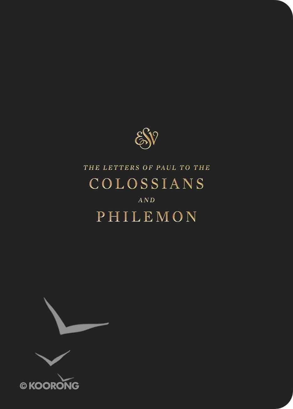 ESV Scripture Journal Colossians and Philemon Paperback