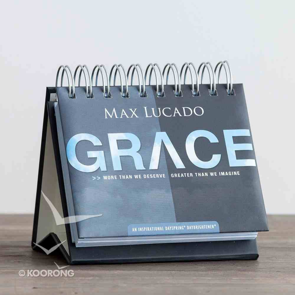 Daybrighteners: Grace, More Than We Deserve (Padded Cover) Spiral