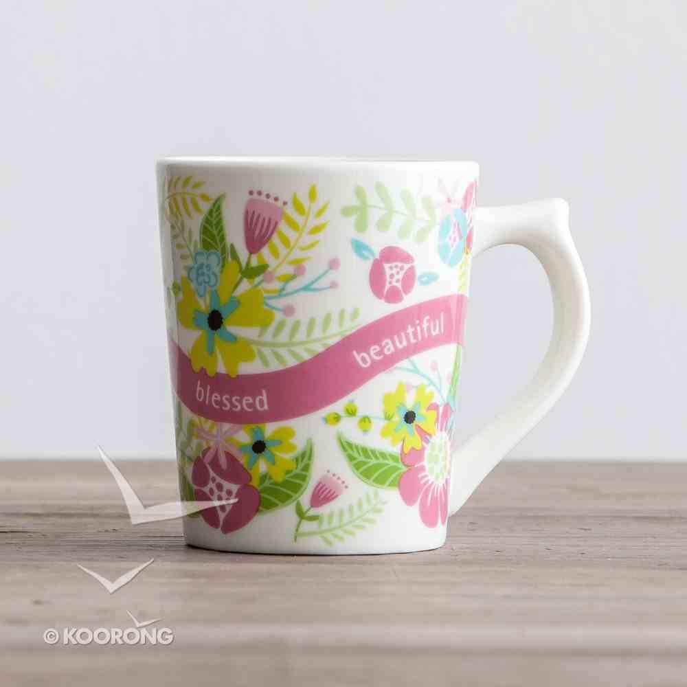 Classic Ceramic Mug: Beautiful Beyond Words Fear the Lord, Floral (Prov 31:30 Nkjv) Homeware
