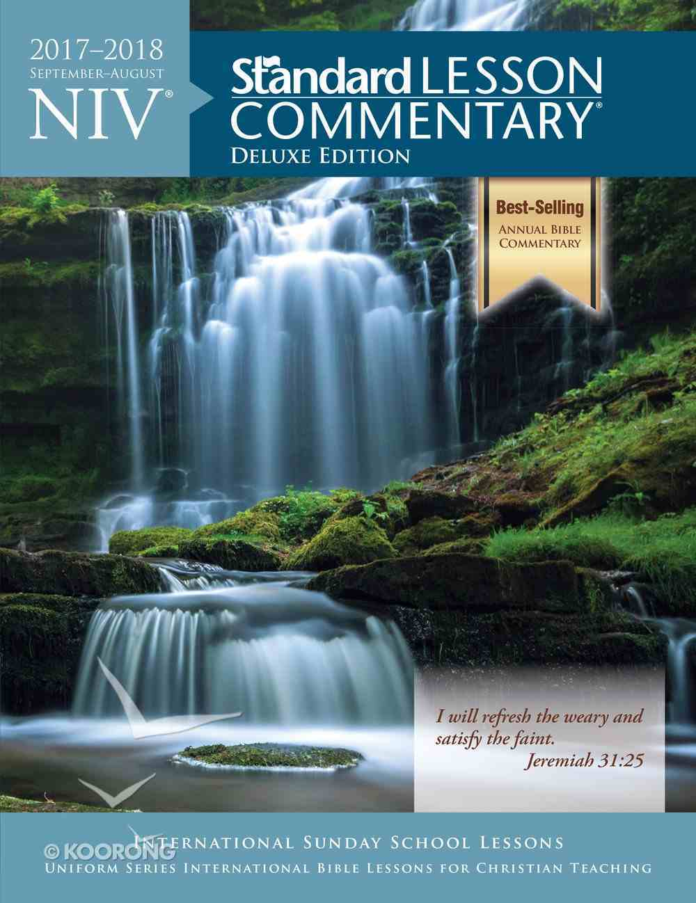 NIV Standard Lesson Commentary 2017-2018 Deluxe Edition Paperback