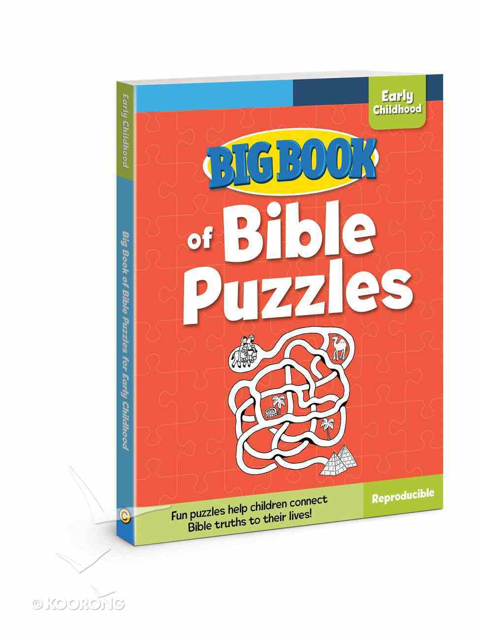Big Book of Bible Puzzles For Early Childhood (Reproducible) Paperback