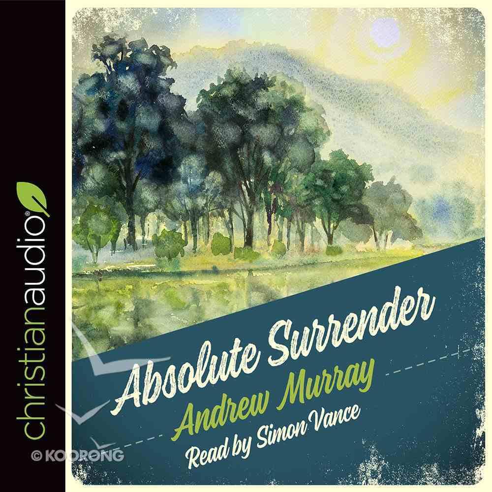 Absolute Surrender (Unabridged, 3 Cds) CD