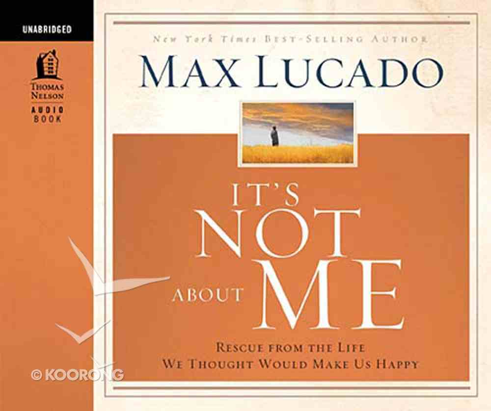 It's Not About Me eAudio Book