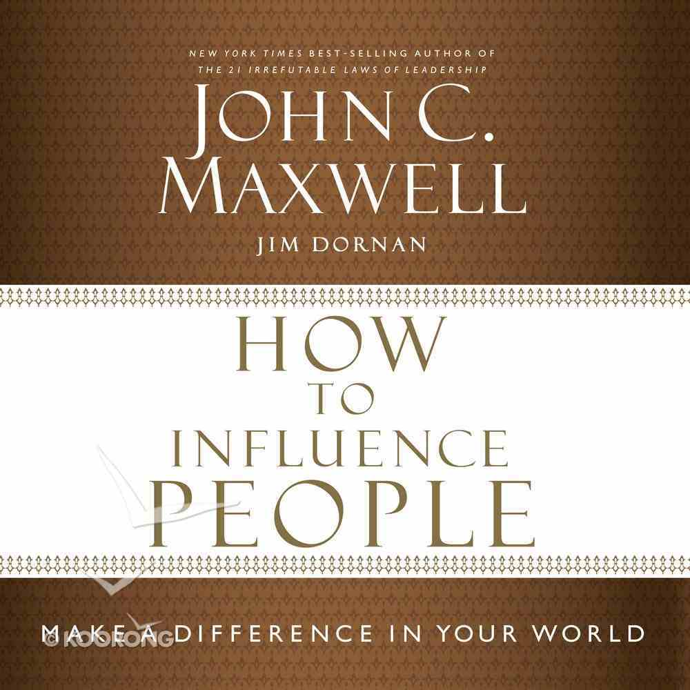How to Influence People eAudio Book