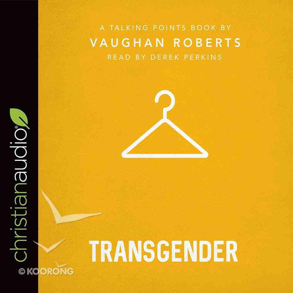 Transgender (Unabridged, 2 CDS) (Talking Points Audio Series) CD