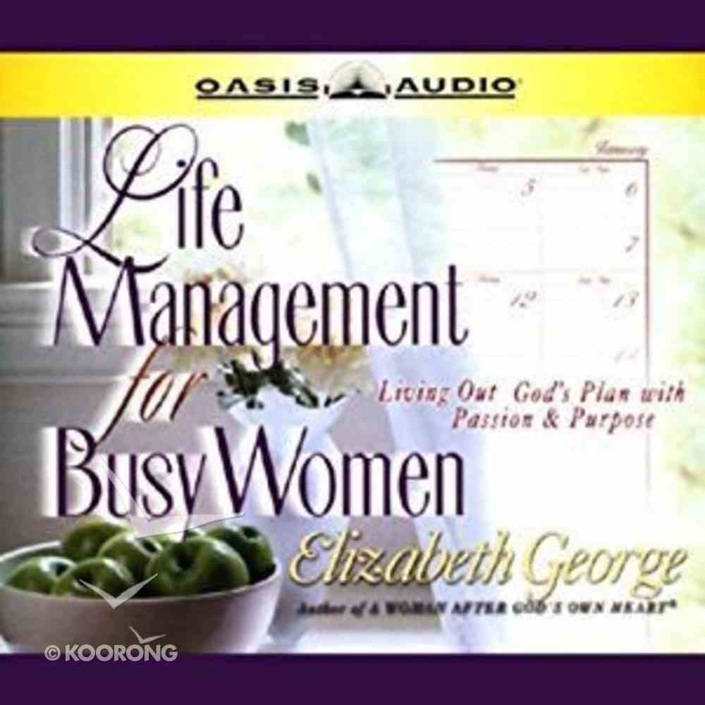 Life Management For Busy Women eAudio Book