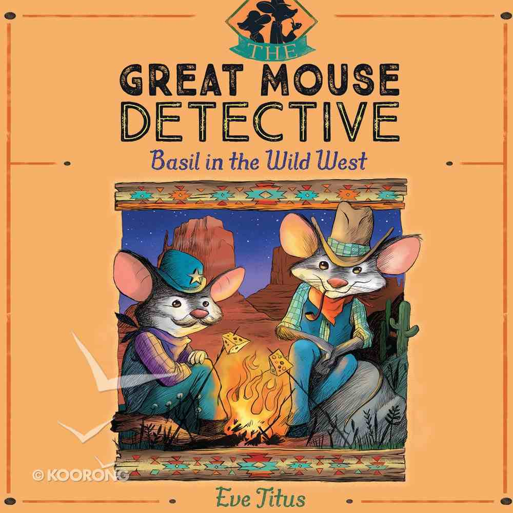 Basil in the Wild West eAudio Book