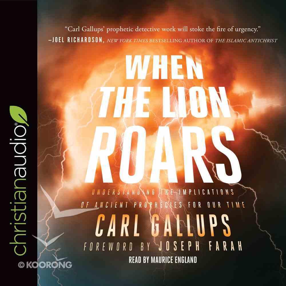 When the Lion Roars eAudio Book