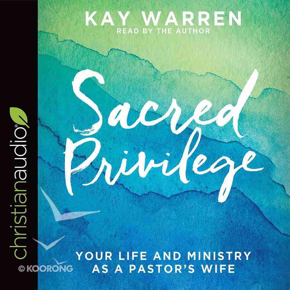 Sacred Privilege eAudio Book