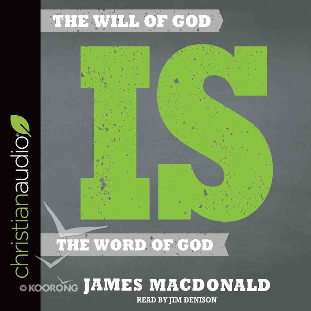 The Will of God is the Word of God eAudio Book
