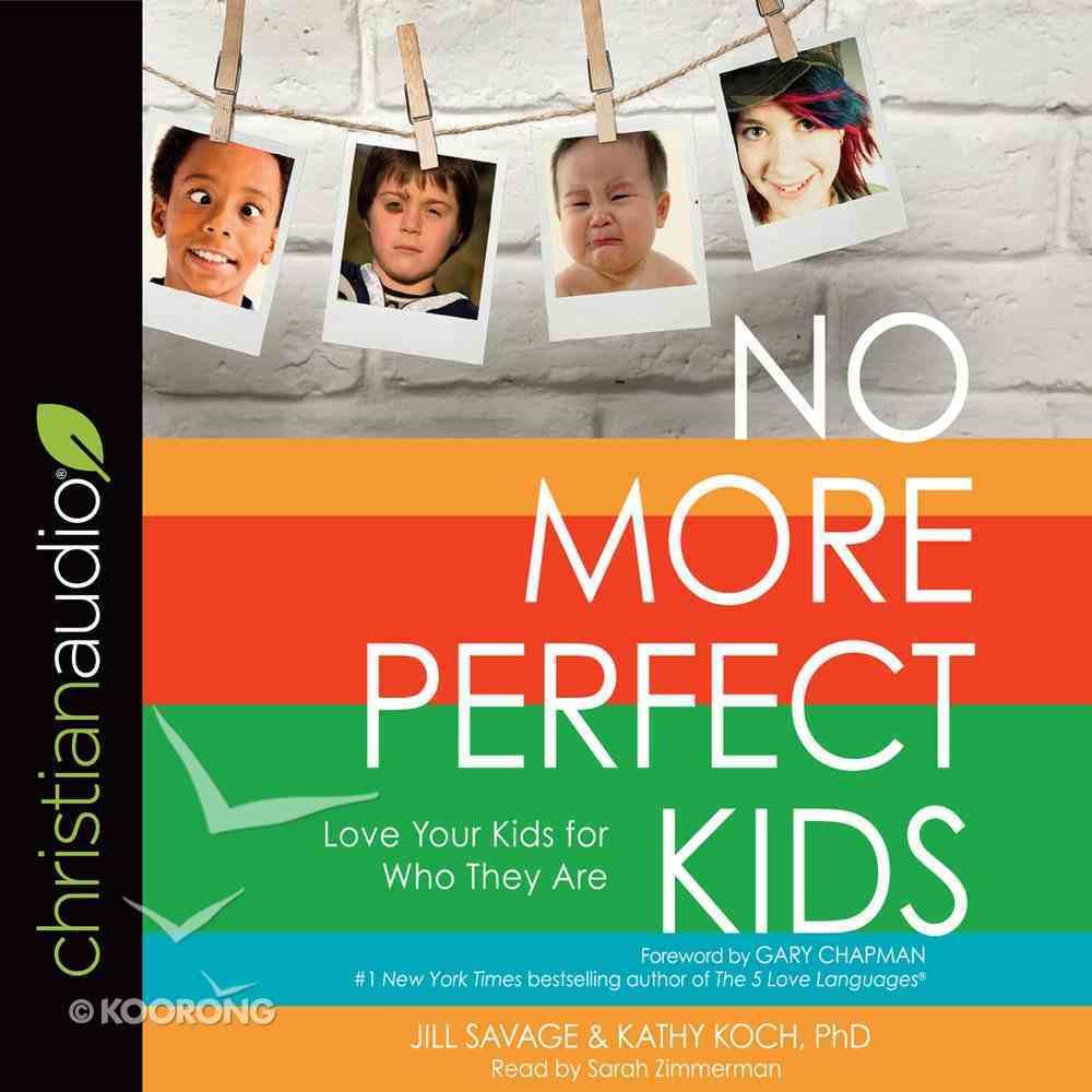 No More Perfect Kids eAudio Book