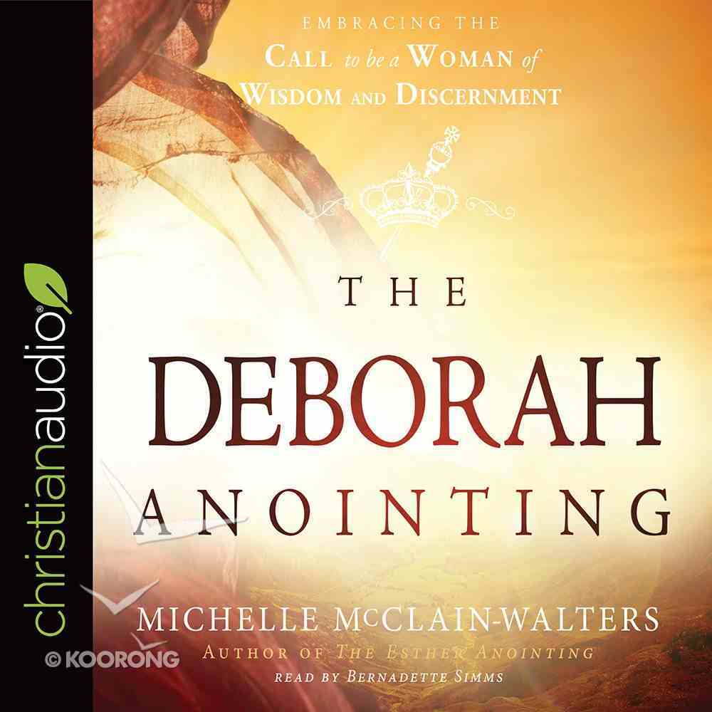 The Deborah Anointing eAudio Book