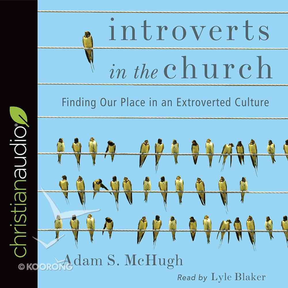 Introverts in the Church eAudio Book