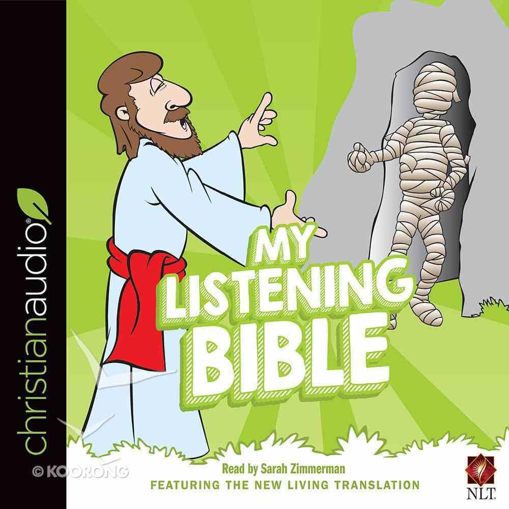 My Listening Bible NLT 85 Bible Stories (Unabridged, 3 Cds) CD