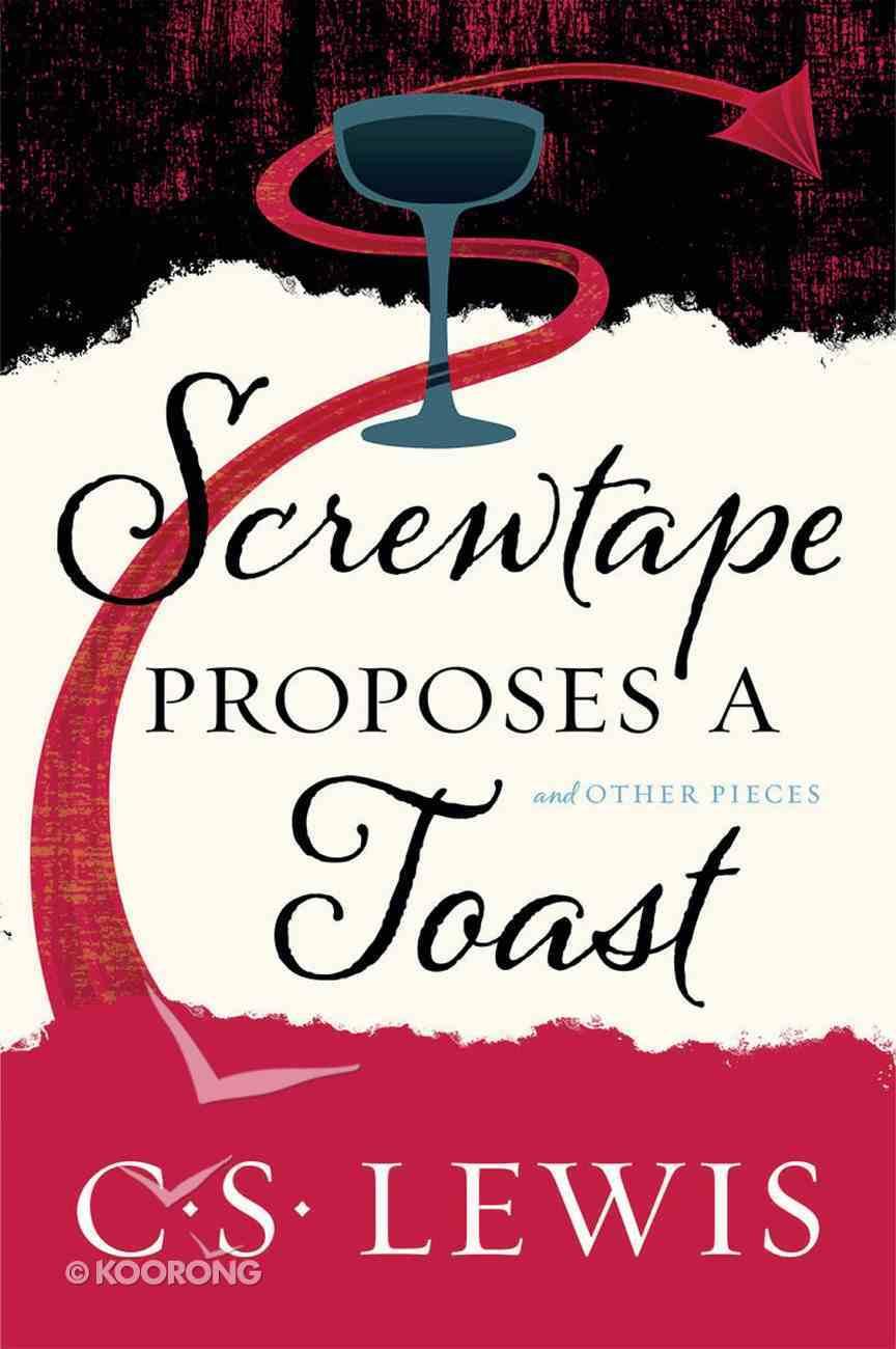 Screwtape Proposes a Toast eBook