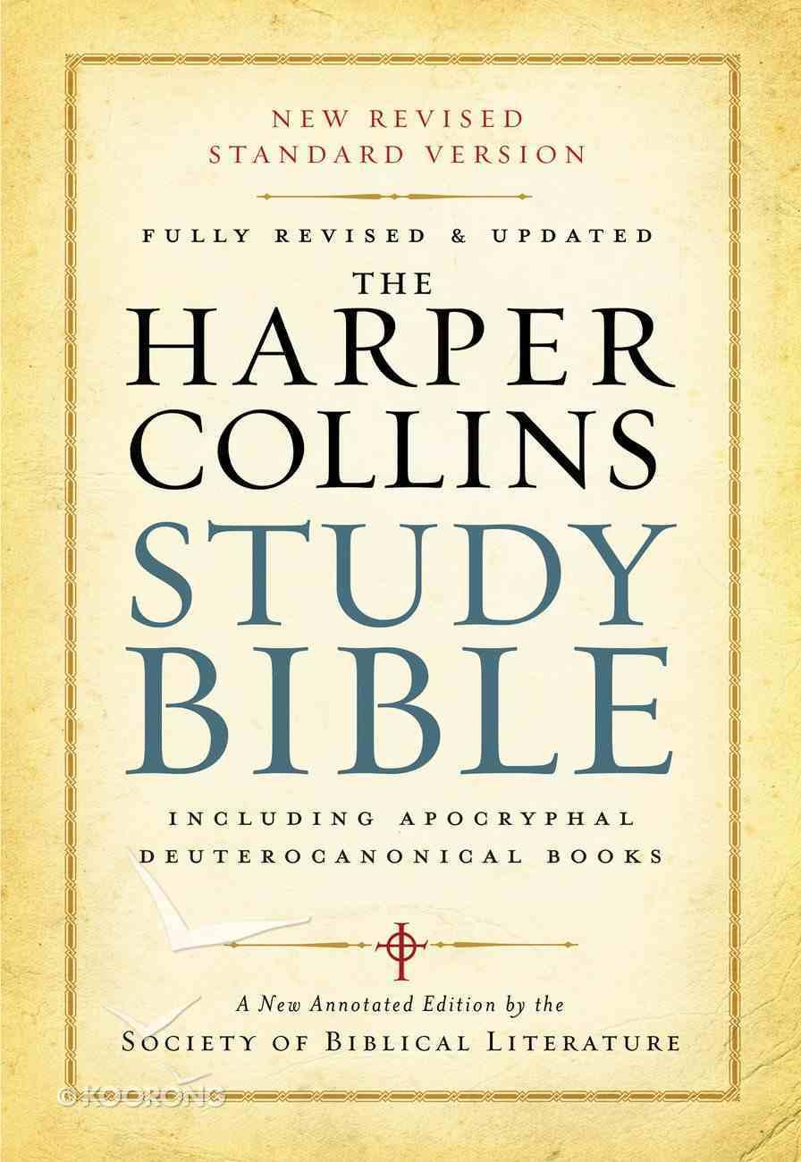 Harpercollins Study Bible eBook