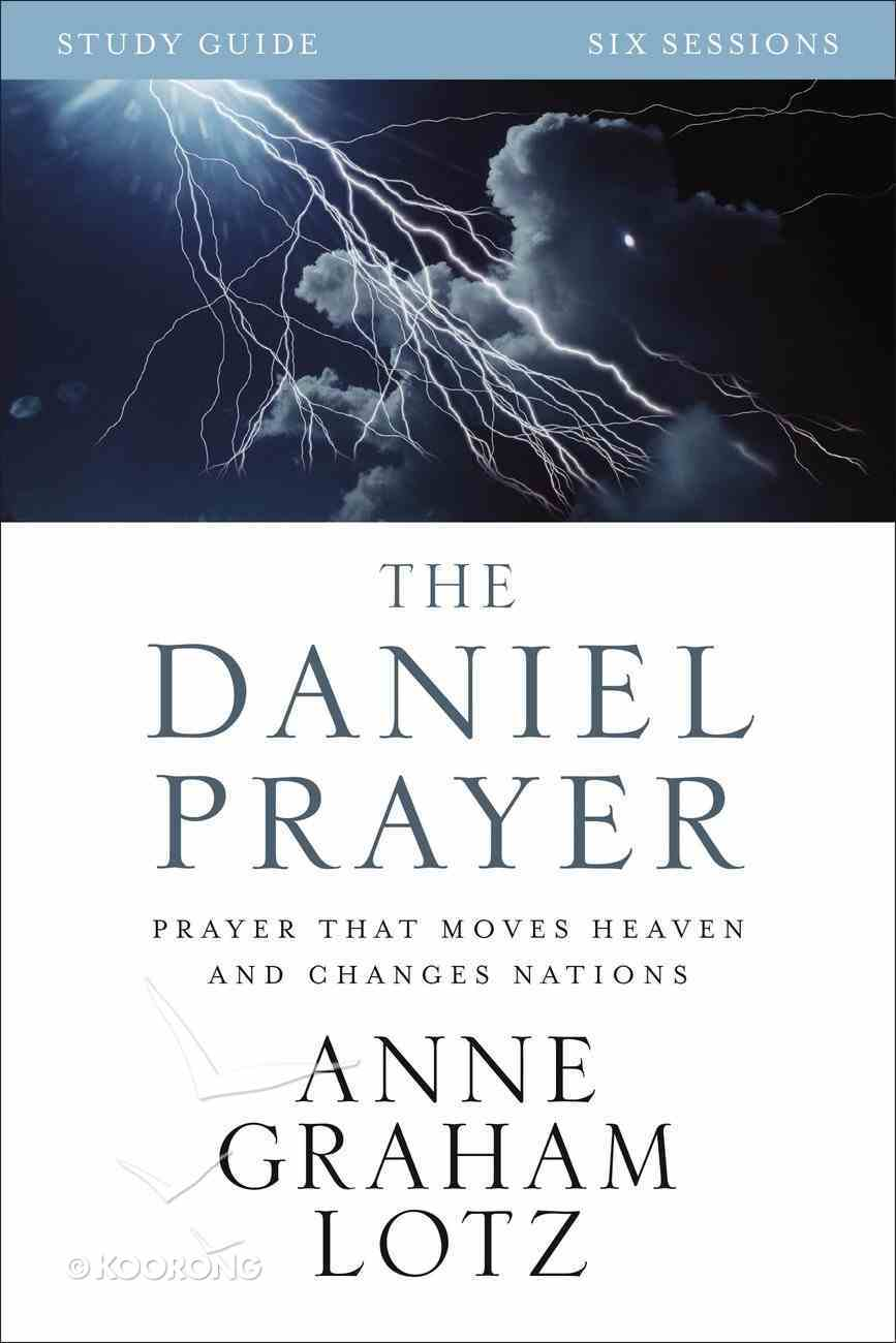 The Daniel Prayer Study Guide eBook