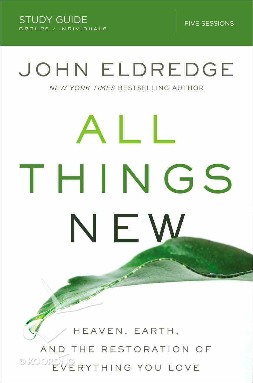 All Things New Study Guide eBook