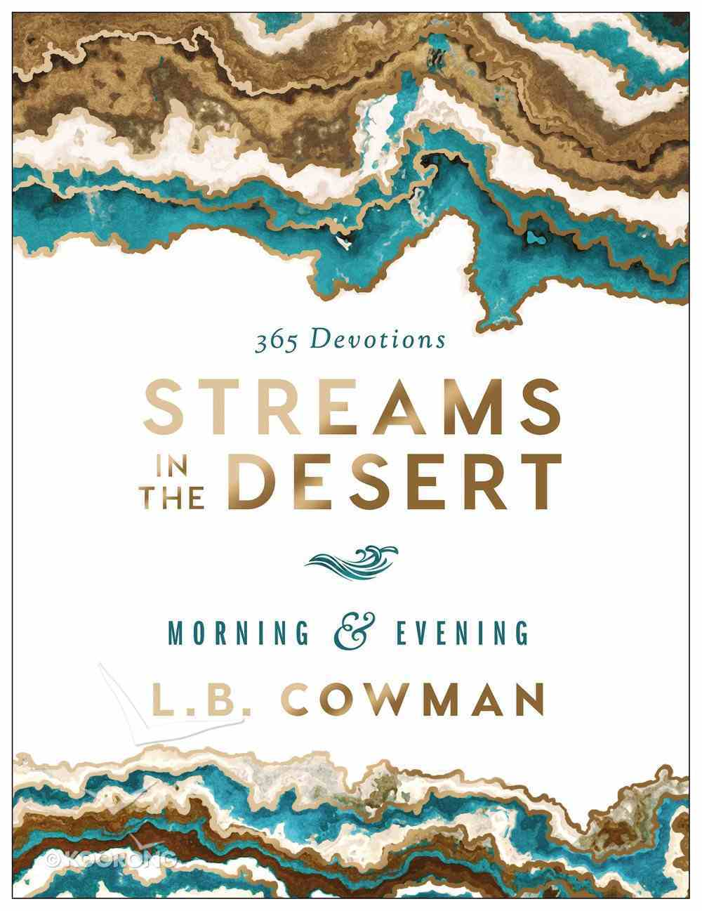 Streams in the Desert Morning and Evening eBook