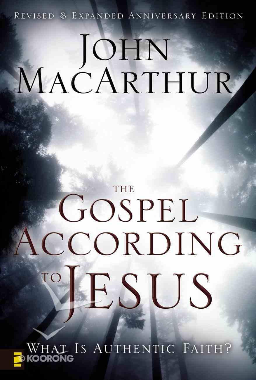 The Gospel According to Jesus eBook