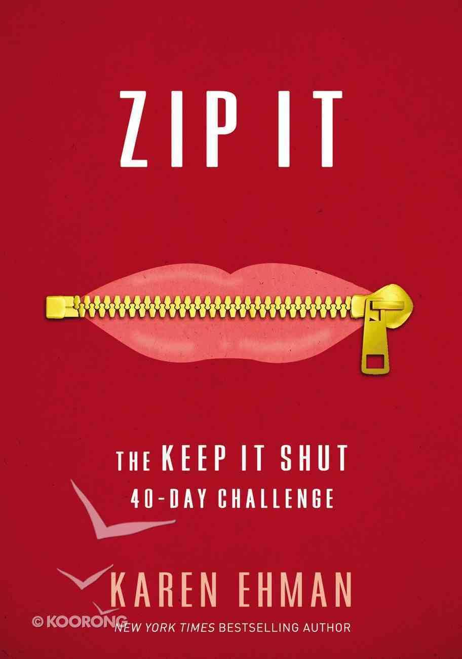Zip It eBook