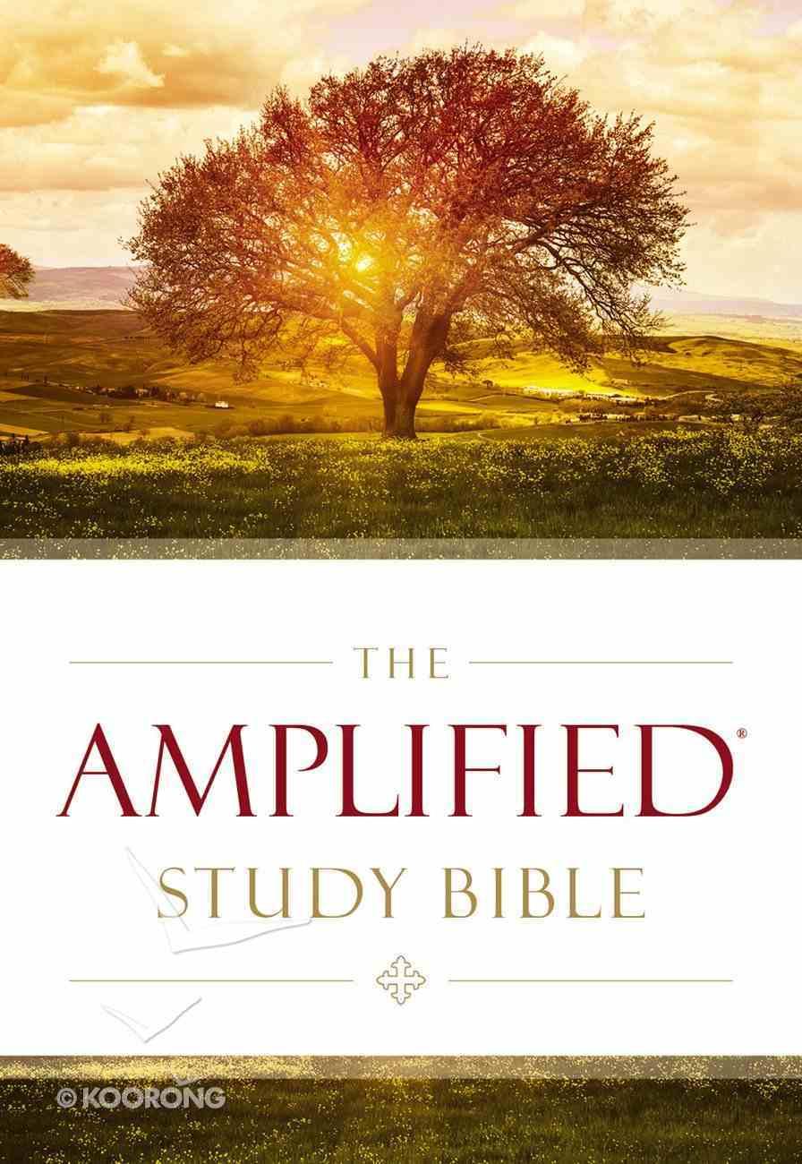 Amplified Study Bible Purple (Black Letter Edition) eBook