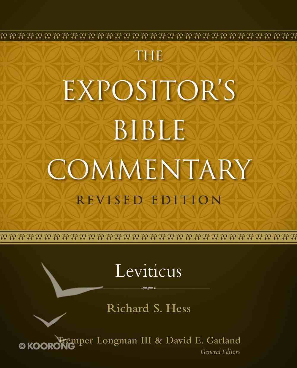 Leviticus (#01 in Expositor's Bible Commentary Revised Series) eBook