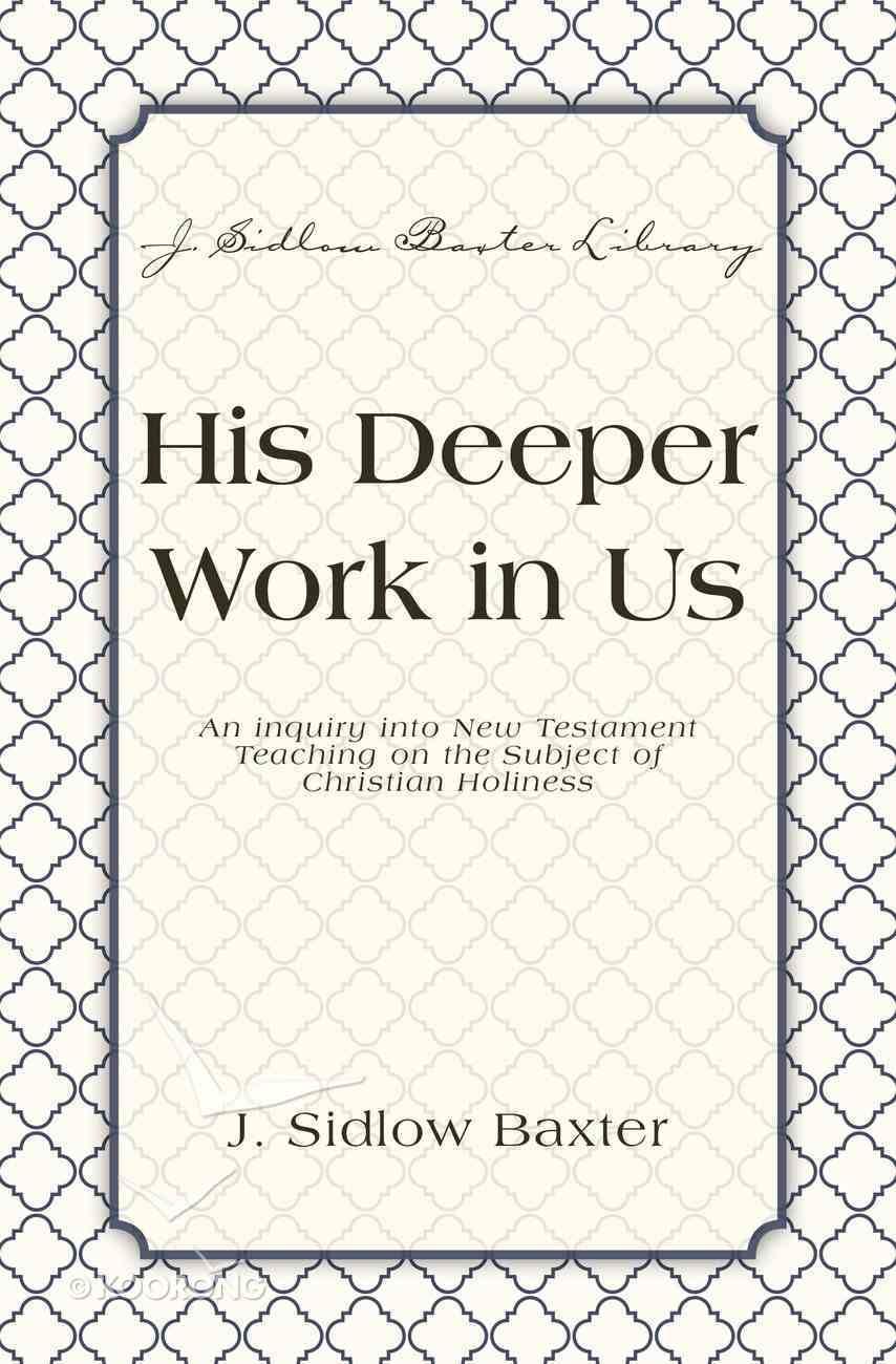His Deeper Work in Us eBook