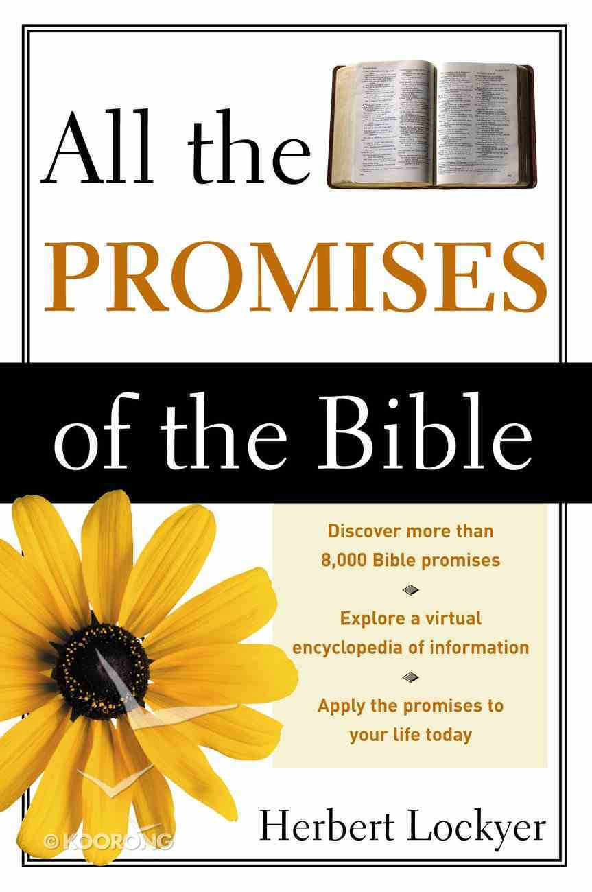 All the Promises of the Bible eBook