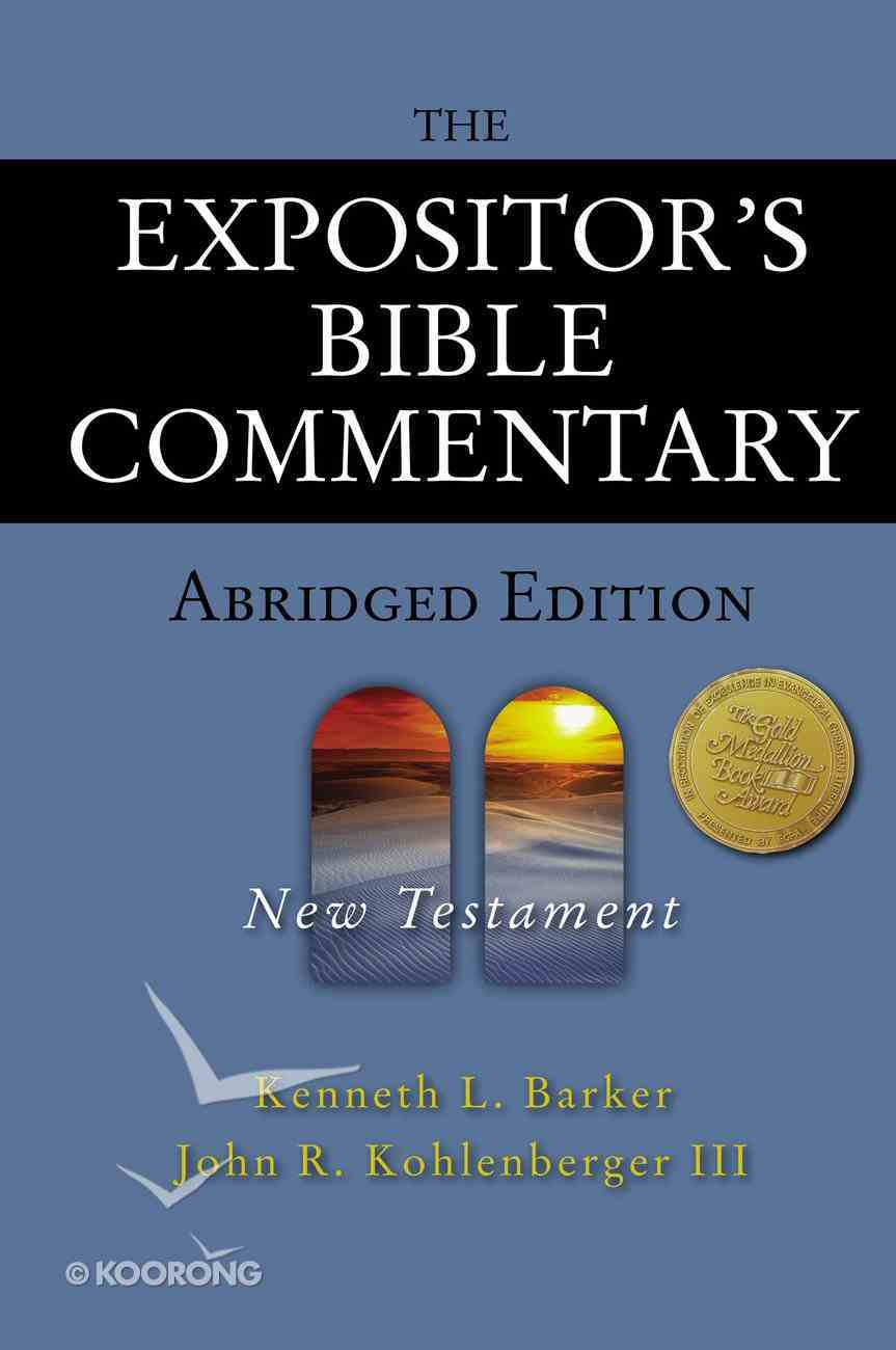 The New Testament (Expositor's Bible Commentary Series) eBook