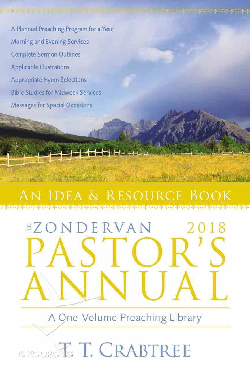 The Zondervan 2018 Pastor's Annual eBook