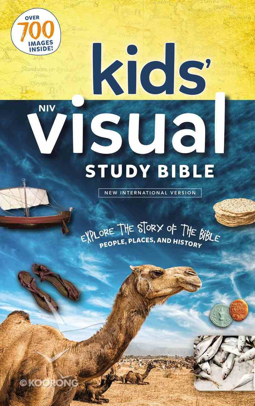 NIV Kids' Visual Study Bible Full Color Interior eBook