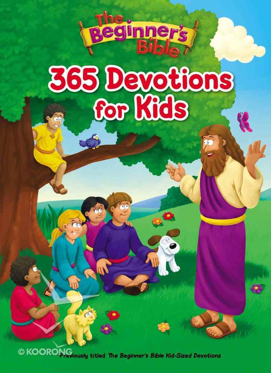 The Beginner's Bible 365 Devotions For Kids (Beginner's Bible Series) eBook