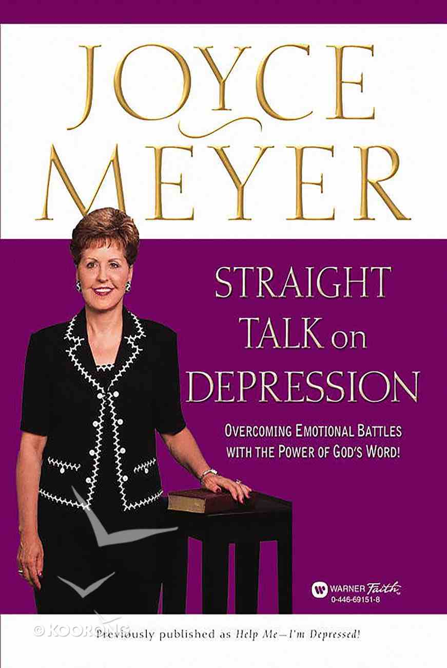 Straight Talk on Depression eBook